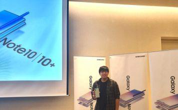 Samsung Galaxy Note 10 - Yandi