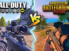 Call Of Duty Mobile vs PUBG Mobile.