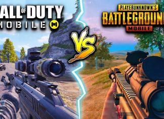 Call Of Duty Mobile vs PUBG Mobile.
