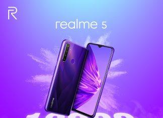 realme 5 sold out 12000 unit
