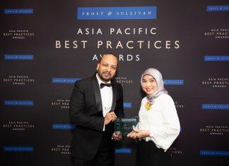 Telkomsel Frost & Sullivan Best Practices Award 2019