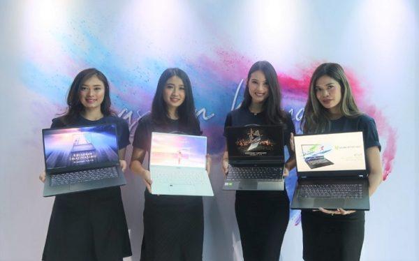 laptop MSI Prestige 15, Prestige 14, Modern 14 dan WS65