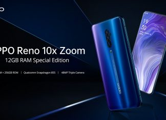 OPPO Reno 10x Zoom 12GB RAM Special Edition