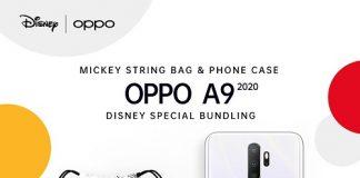 OPPO A9 2020 Disney Special Bundling