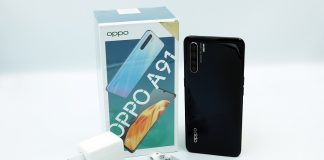 OPPO A91 unbox