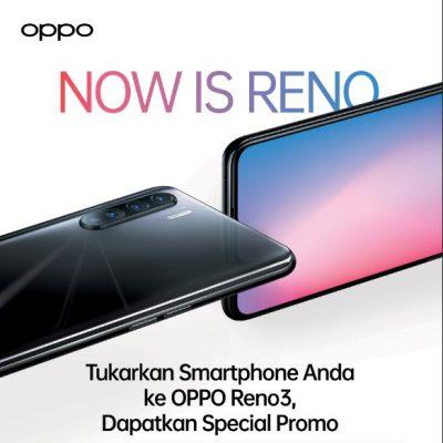 OPPO Reno3 tukar