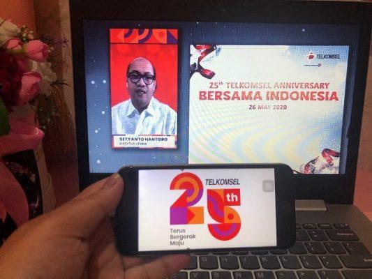 HUT 25th Telkomsel-1