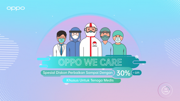 servis OPPO We Care