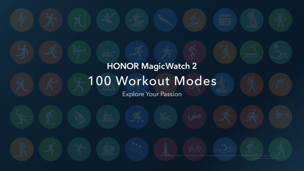 HONOR MagicWatch 2 100 Sports Update