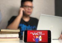 Layanan telkomsel VoLTE-2