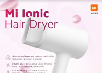 Xiaomi Hair Dryer Mi Ionic