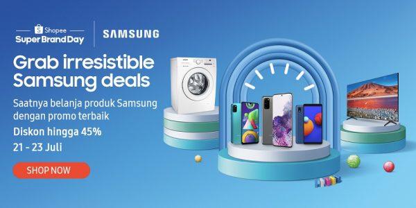 Samsung x Shopee Super Brand Day