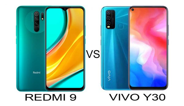 redmi 9 vs vivo y30