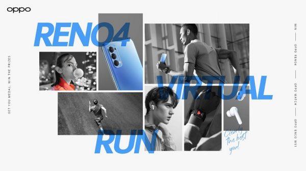 Oppo reno4 run