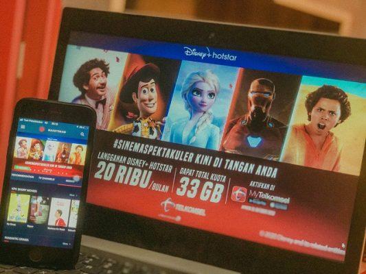 Launching Telkomsel x Disney+ Hotstar _3