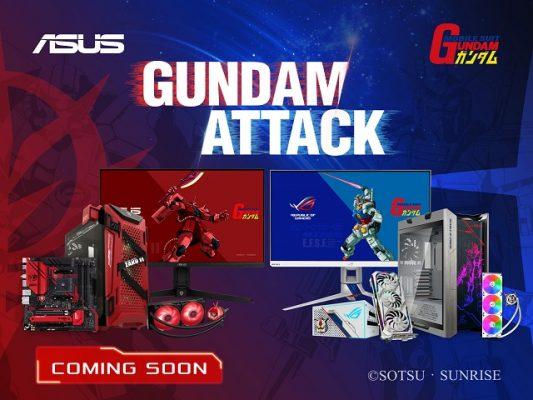 PC ASUS X GUNDAM