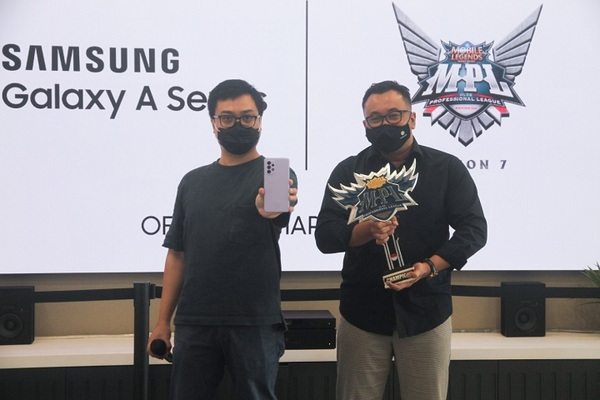 Samsung Galaxy A Series Jadi Official Smartphone di Mobile Legends Bang Bang