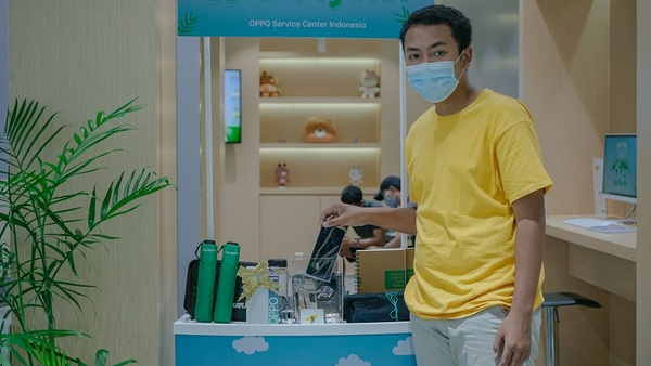 OPPO Service Center Ajak Konsumen Tukarkan Smartphone Yang Rusak