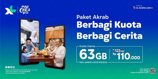 paket internet XL paket Akrab