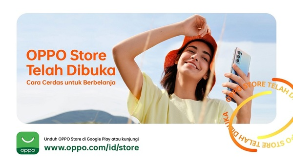 OPPO Store - Telah dibuka