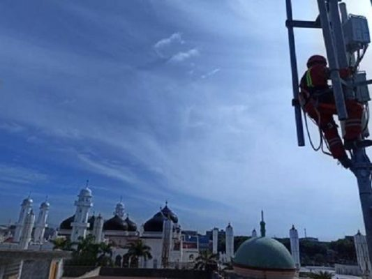 XL Axiata di Aceh (1)